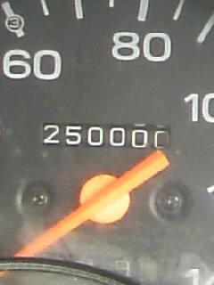 250000km走破!